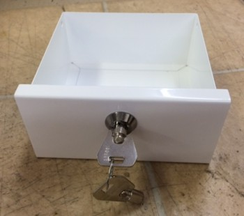 Replacement Cashbox with Lock & Key