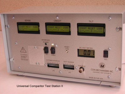 Universal Comparitor Test Station II