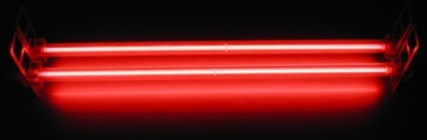 Bright Red Colored Straight Tube CCFL